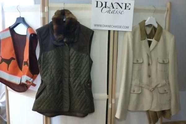 """la ligne de (""""Diane Chasse"""")."""