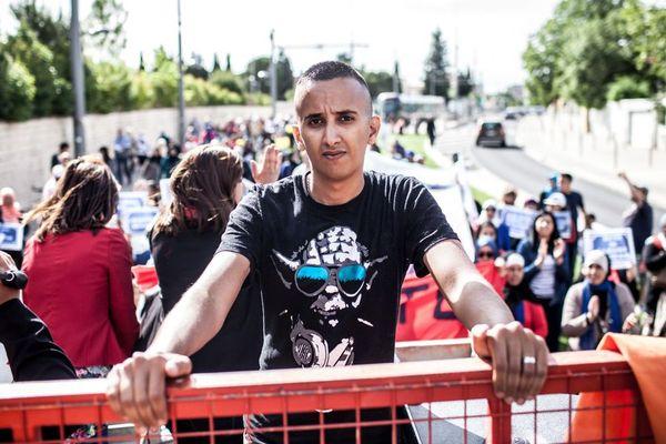 """Rachid Najid pour Petit Bard à Montpellier, l'un des 10 vainqueurs du concours """"Film ton quartier"""" organisé par France 3 en mai 2015."""