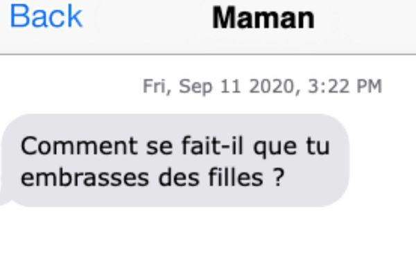 Eléonore faisait du shopping avec sa petite amie quand elle a reçu ce SMS, le 11 septembre 2020. Elle avait 22 ans.