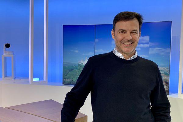 François Ozon sur le plateau de France 3