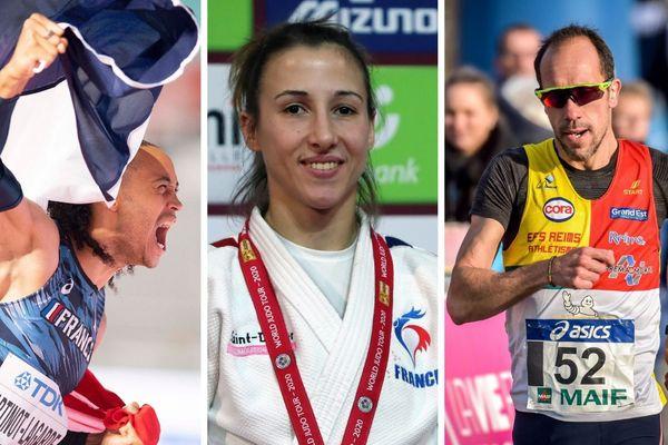 Pascal Martinot-Largarde s'entraîne au Creps de Reims, Mélanie Clément est une judokate Haut-Marnaise et Yohann Diniz un marcheur marnais
