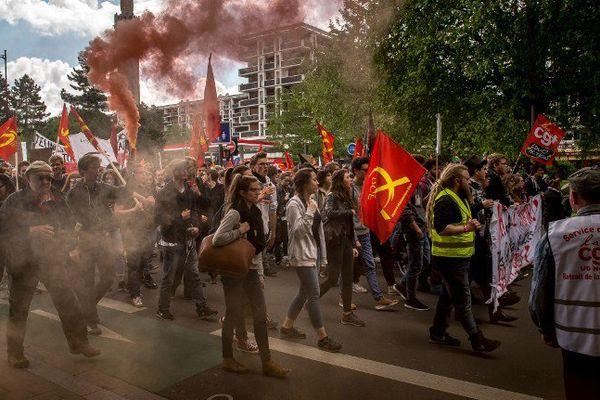 Manifestation à Lille, le 19 mai 2016.