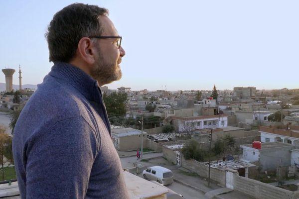 Raphaël Pitti en Syrie.