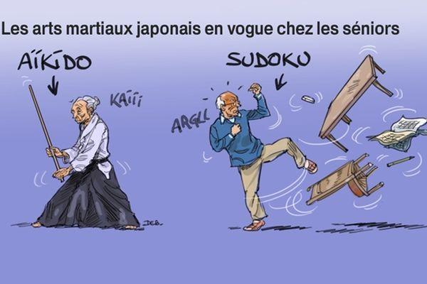 Dessin d'humour en lien avec notre reportage diffusé dans le 19/20 Champagne-Ardenne du 10/01/2013