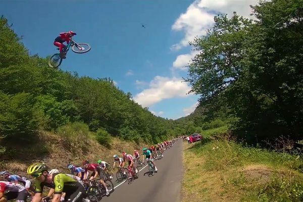Valentin Anouilh est à 9 mètres au-dessus du peloton du Tour de France