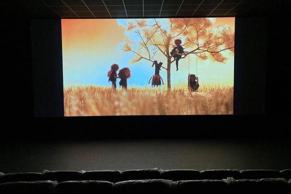 Un écran, un film, des fauteuils et l'obscurité... une salle de cinéma