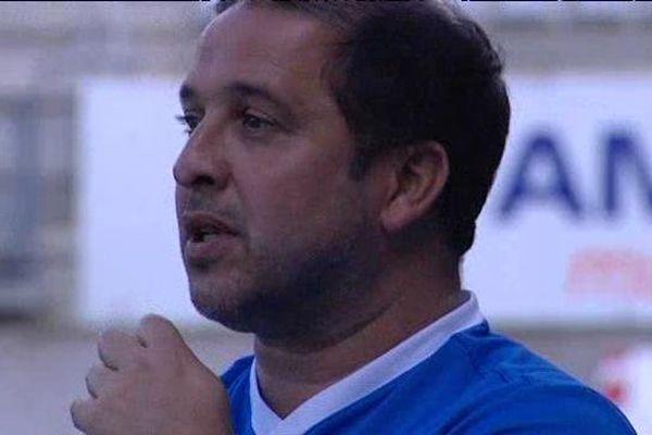 Pablo Correa, entraîneur de l'ASNL.