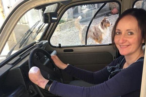 Céline de la Obra, 39 ans, a été amputée des quatre membres.