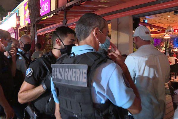 La gendarmerie de Céret a fait plusieurs rappels à l'ordre aux habitants.