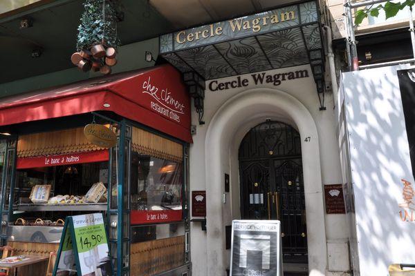Le Cercle Wagram, à Paris.