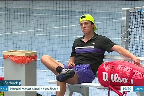 Le Lorrain Harold Mayot ne cache pas qu'il a lui aussi été approché via les réseaux sociaux dans la nouvelle affaire de matchs truqués qui agite le monde du tennis.