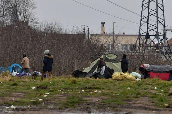 Calais, en mars 2018.