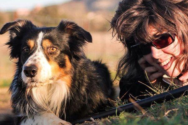 Marine Dupuy était passionnée par les chiens de troupeau et participait souvent à des concours.