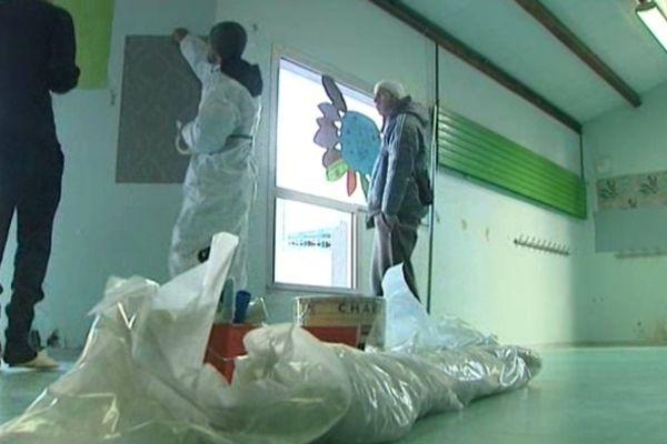 A Montpellier, l'école du Petit Bard a été vandalisée le 28 janvier 2013.