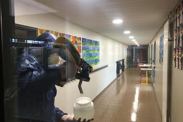 L'ensemble des installations des deux établissements à fait l'objet d'un nettoyage en profondeur.