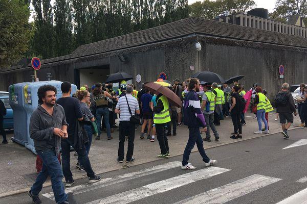 43 e manifestation de Gilets jaunes à Besançon