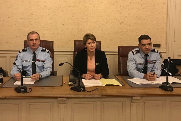 La procureure de la République d'Auxerre a tenu une conférence de presse ce mercredi 16 janvier 2019.