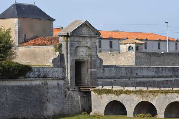 La prison de Saint-Martin-de-Ré, ici en 2014 (photo d'illustration)
