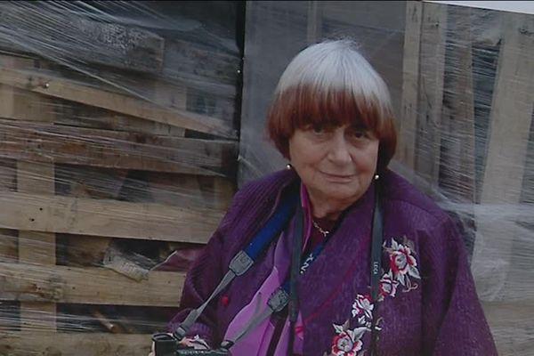 Agnès Varda avait inauguré le cinéma de Joigny, qui porte son nom, en septembre 2017.