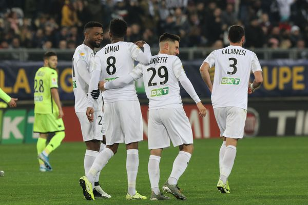 L'Amiens SC remporte ce 1/16e de finale de la Coupe de la Ligue sur le score de 3-2 face à Angers mercredi 30 octobre 2019 au stade de la Licorne