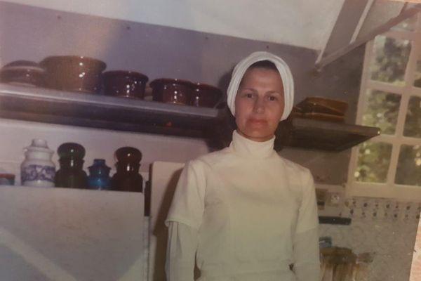 Annie Desvignes en 1975