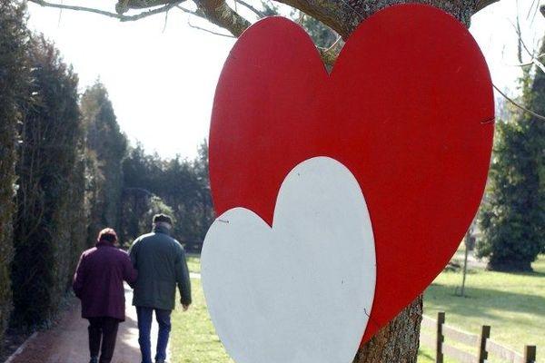Le village de Saint-Valentin, capitale de l'amour !