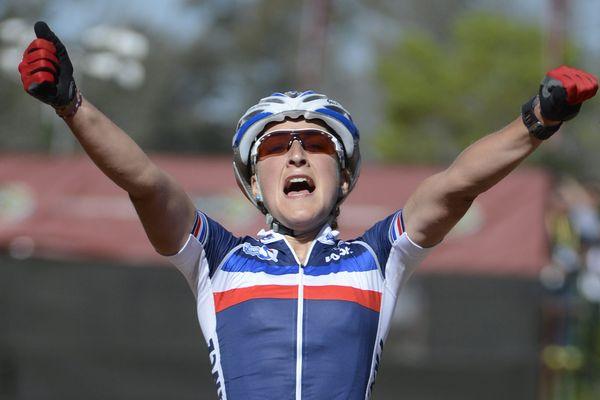Julie Bresset, championne du Monde en 2013