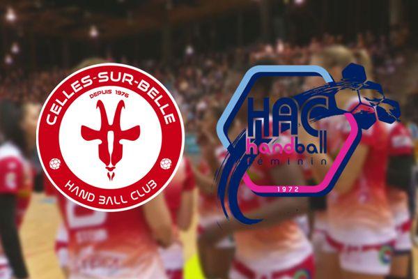 Handball : Celles sur Belle / Le Havre