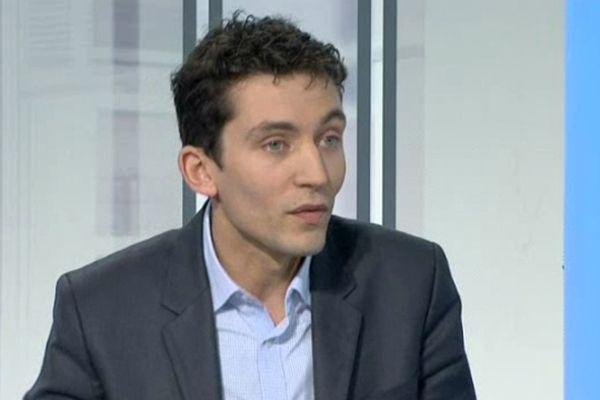 Julien Sanchez - Conseiller régional FN du Languedoc-Roussillon, élu du Gard - 2012
