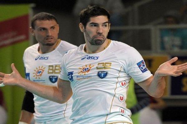 Nikola Karabatic - joueur du MAHB de Montpellier - 11 novembre 2012.