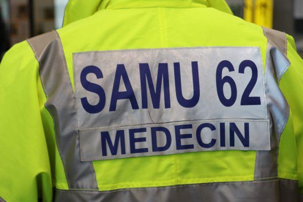 Image d'illustration d'un médecin du SAMU du Pas-de-Calais.