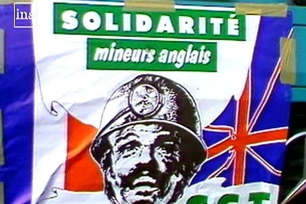 Tout un mouvement de solidarité s'était créé dans la région pour soutenir la grève des mineurs anglais.