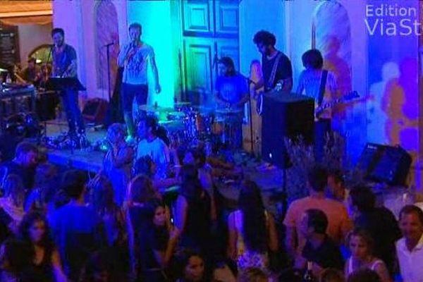 ILLUSTRATION - Un concert lors de la fête de la musique en Corse.