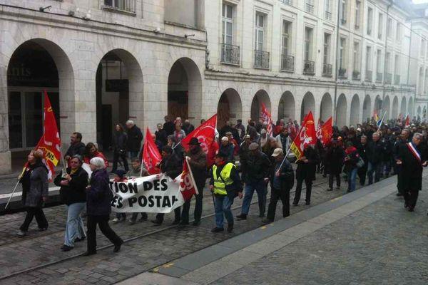 Manifestation du 1er mai à Orléans