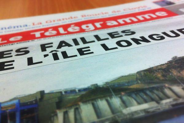 Le journal papier sort une enquête sur l'Ile Longue