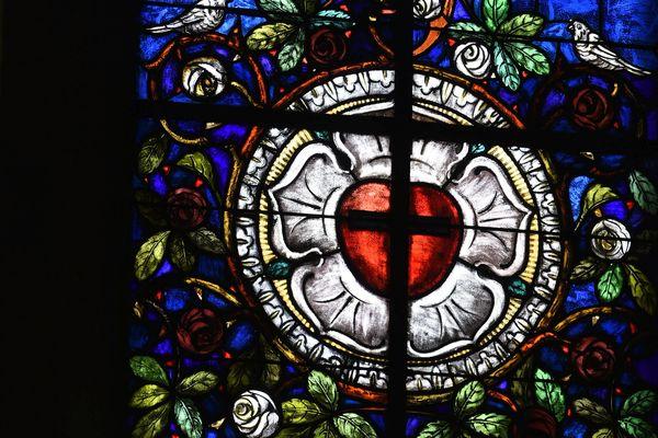 Vitrail de la Réforme protestante