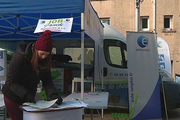 Agde (Hérault) - le job truck des services à la personne est sur le marché pour recruter - 2019.