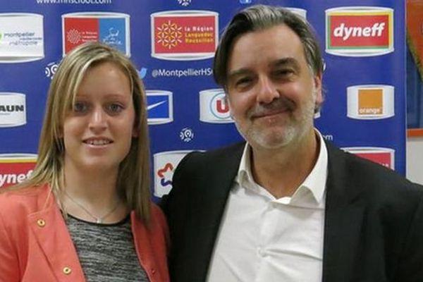 La gardienne montpelliéraine Solène Durand prolonge jusqu'en 2017 - 21 mai 2015