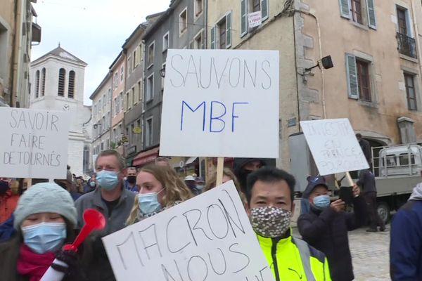 Les employés de MBF veulent sauver leurs emplois.