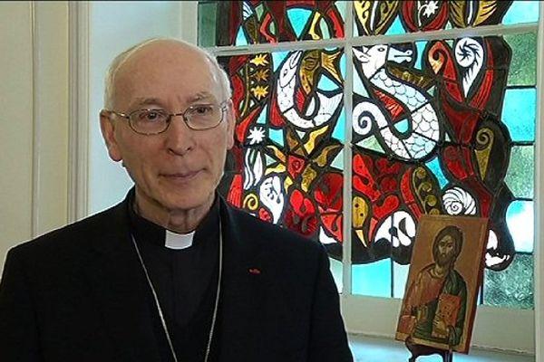 Monseigneur Philippe Guéneley administrateur apostolique du diocèse de Quimper et Léon.