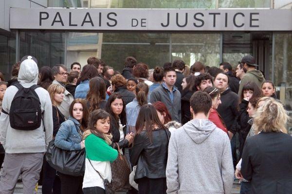 Les proches des victimes sont venus nombreux pour le procès au tribunal correctionnel de Narbonne