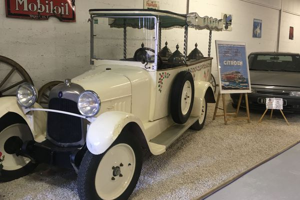 Jura Le Musee Des Vehicules Anciens A Perrigny Fete Les 100 Ans De Citroen