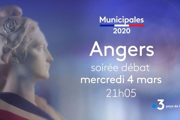 Municipales 2020. Focus sur Angers, débat le 11 mars 2020