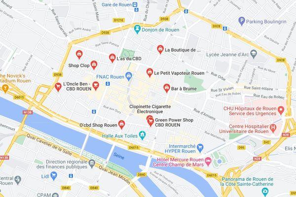 Les boutiques de CBD fleurissent depuis quelques mois dans le centre-ville de Rouen.