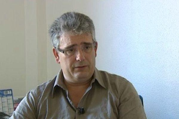 """Pascal Coste a été élu président du groupe """"Corrèze Demain"""", vendredi 3 octobre 2014"""