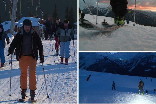 La station de La Rosière (Savoie) organise des initiations au ski de randonnée.
