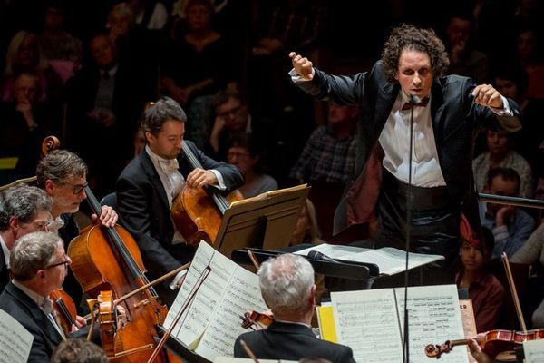 Alexandre Bloch, le directeur musical de l'Orchestre National de Lille.