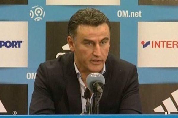 Christophe Galtier, entraîneur ASSE