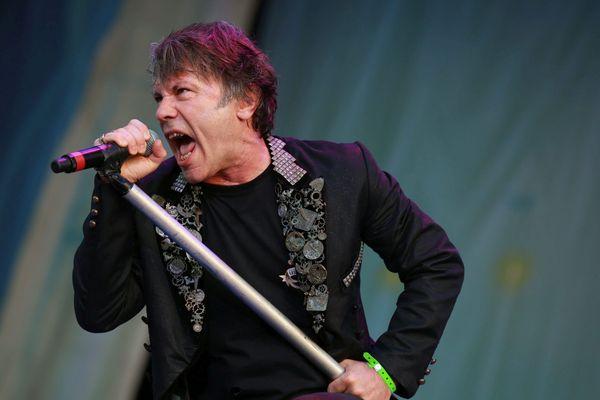 Bruce Dickinson, leader du groupe Iron Maiden