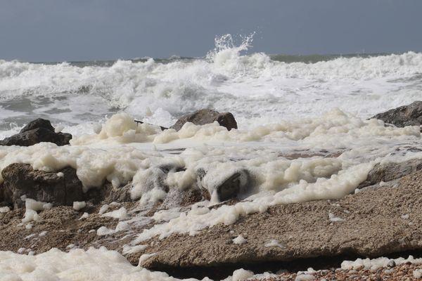 Des pointes de vent à plus de 120 km/h ont été enregistrées sur la côte. Photo d'illustration.